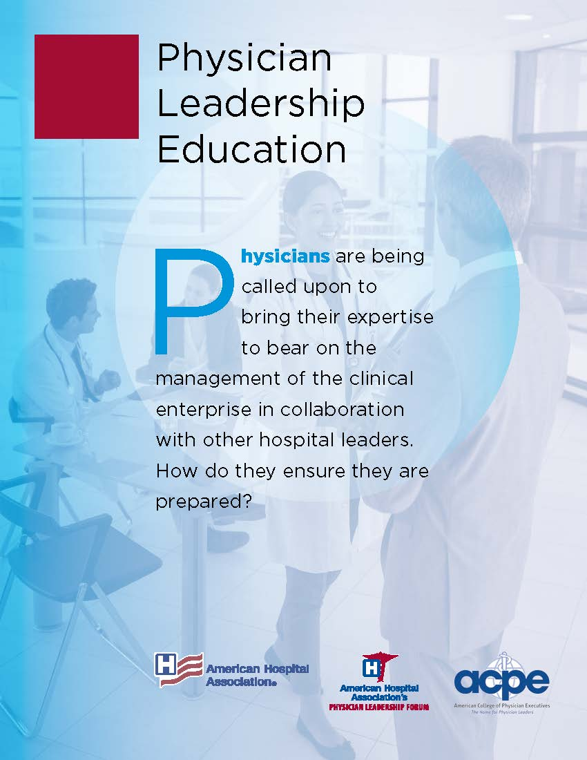Physician Leadership: The Implications for a Transformed Delivery System