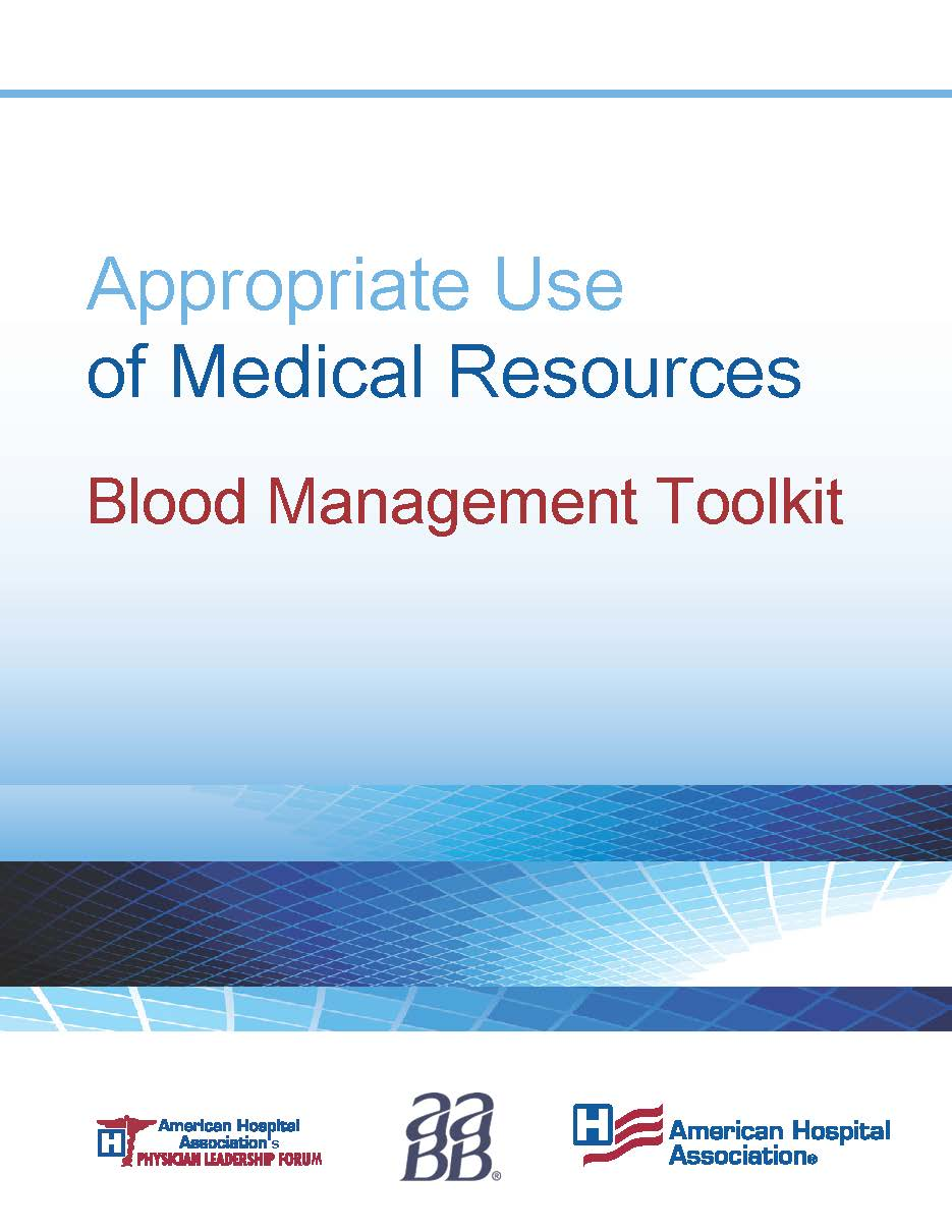 Blood Management Toolkit