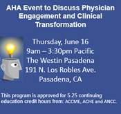 Physician Engagement and Clinical Transformation