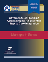 2015 Blue Ribbon Panel: Governance of Physician Organizations